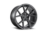 "ES#3170949 - R13918854345KT - 18"" KPS - Set Of Four - 18""x8.5"" ET45 5x112 - Matte Black Face / Gloss Black Windows - Rotiform - Audi Volkswagen"