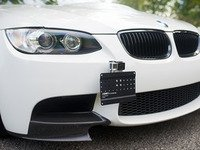ES#3420247 - 001912ECS04-01 -  Ultimate ECS Tow Hook Mount License Plate Kit - A perfect starting point for the ECS Modular Tow Hook product line! - ECS - BMW MINI