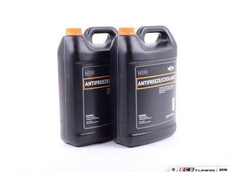 ES#3138132 - 82140031133KT - MINI Antifreeze / Coolant - 2 Gallon ( 7.58L ) - Keep your MINI engine cool and to proper temperature - Genuine MINI - MINI