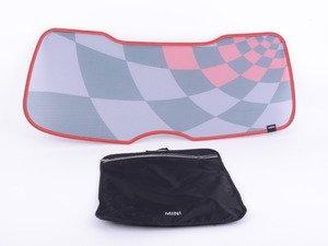 ES#2787371 - 51462358070 - Rear Sun Blind For Trunk - JCW Pro - Covers the interior rear trunk window - Genuine MINI - MINI