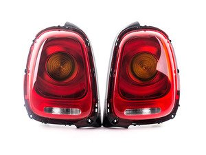 ES#3162643 - 63217297413KT - Tail Light LED Euro - Set - Upgrade to amber center turnsignal tailights for your MINI - Genuine European Mini - MINI