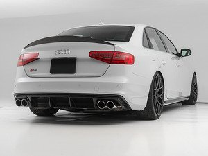 ES#3085916 - 018359ECS01A -  Carbon Fiber Rear Diffuser - Hand-laid carbon fiber to upgrade your exterior styling - ECS - Audi