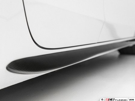 ES#3569275 - 004093ECS01 - Audi B8 Carbon Fiber Side Blade Set - Add a touch of style made with real carbon fiber to your Audi - ECS - Audi