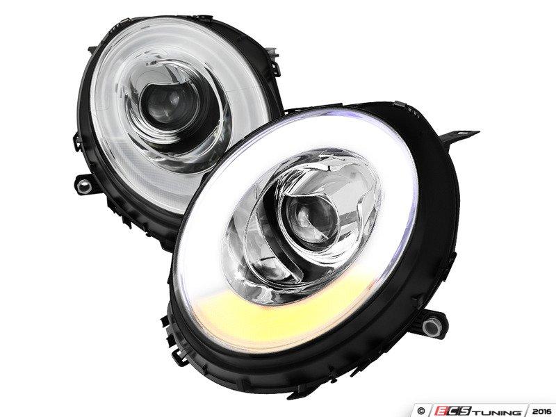 Housing Spec-D Tuning 2LHP-MINI06JM-TM Black Projector Headlight