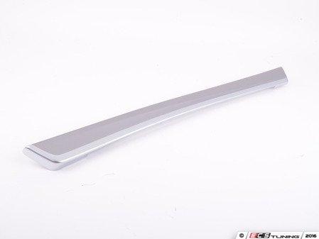 ES#2178124 - 51418050164 - Front Door Panel Trim - left - Hexagon aluminum - Genuine BMW - BMW