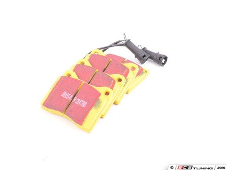 ES#521089 - DP4753R - YellowStuff Performance Brake Pads - Front - A race quailty pad that can be used at the track and back home again. - EBC - BMW