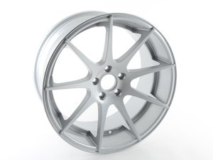 """ES#3170965 - 509-3SD - 19"""" Style 509 Wheel *Scratch And Dent* - (NO LONGER AVAILABLE) - 19""""x9.5"""", ET40, 5x112, 66.56mm CB, Silver - Alzor -"""