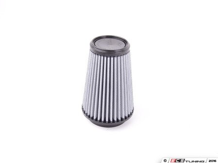 """ES#518376 - 21-33507 - Universal Pro Dry S Air Filter - White - Replacement filter with 3.3125"""" inlet, 5""""base, 3.5""""top, and 7""""height - AFE - Volkswagen"""