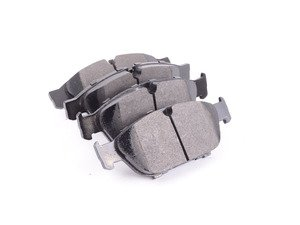 ES#3098620 - HB757B.758 - Front HPS 5.0 Performance Brake Pad Set - Next generation high performance street brake pad offering greater stopping power and pedal feel, with very low dust and noise - Hawk - Audi