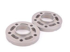 ES#3028451 - TWHF9905F20 - 20mm Big Pad Wheel Spacers - Silver (Pair) - Lightweight wheel spacers with a machined tab for easy removal - designed to work with modern large-pad BMW wheels! See description for details. - Turner Motorsport - BMW