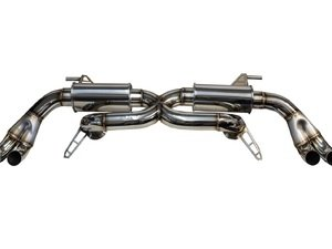 ES#3173506 - EW2350 - Performance Resonated Exhaust System - Upgrade your exhaust system with Eurowise! - Eurowise - Audi