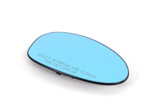 ES#84070 - 51167157244 - standard Mirror Glass - Right - Blue tinted factory replacement mirror glass - Genuine BMW - BMW