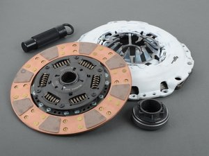 ES#2829013 - 02060HDCL - Stage 4 Clutch Kit - FX400 - Full faced, sprung hub ceramic clutch disc with a HP rating of 475 - Clutch Masters - Audi