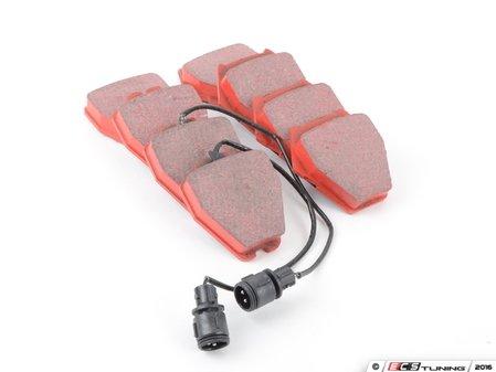 ES#520321 - DP31328C - RedStuff Performance Front Brake Pad Set - High performance street pad, featuring Kevlar technology. - EBC - Audi
