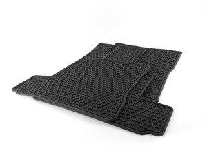 ES#1827981 - Q6680674 - All-Weather Floor Mat Set - Black - Includes all four mats for superior interior protection - Genuine Mercedes Benz - Mercedes Benz