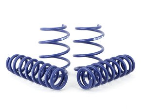 "ES#2986290 - 28878-5 - Sport Spring Set - Approximate lowering of 1""F/0.75""R for vehicles with sport suspension, 1.5""F/1.2""R for vehicles with standard suspension. - H&R - BMW"