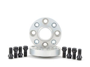 ES#1303559 - 5024564 - H&R DRA Series Wheel Spacers - 25mm (1 Pair) - H&R MINI wheel spacers. Hub to the spacer with supplied bolts, uses existing bolts to attach spacer to wheel. - H&R - MINI