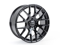 "ES#3173682 - 030-10KT - 18"" Style 030 Wheels - Set Of Four - 18""x8"" ET35 5x112 - Gloss Black - Alzor - Audi Volkswagen"