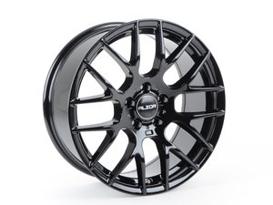 "ES#3478635 - 030-10KT1 - 18"" Style 030 Wheels - Set Of Four	 - 18""x8"" ET35, 5x112 - Gloss Black - Alzor - Audi MINI"