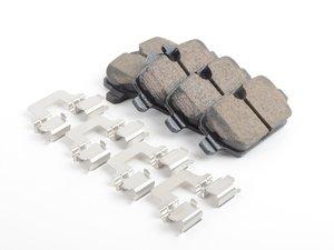 ES#2765993 - 34219808706 - Rear Euro Ceramic Brake Pad Set EUR1554 - Restore the stopping power in your MINI. Akebono Euro - Akebono - MINI