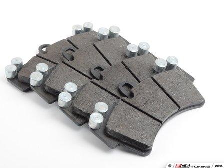 ES#3148362 - 0986424739 - EuroLine Front Brake Pad Set - Vehicle-specific formula pads for consistent factory braking performance - Bosch - Audi Volkswagen