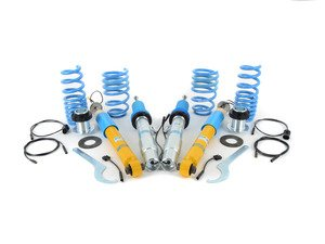 ES#2984136 - 49-237108 - DampTronic Coilover Suspension Kit - Working directly with your existing Electronic Dampening Control System, the DampTronic Coilover System allows adjustable ride height without sacrificing and features of the EDC suspension. - Bilstein - BMW
