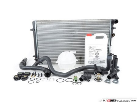 ES#2765678 - 1J0121253ADKT8 - Cooling System Refresh Kit - The most common failure points in your cars cooling system - Assembled By ECS - Volkswagen