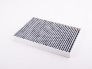 ES#2993097 - 4M0819439A - Charcoal Lined Cabin Filter / Fresh Air Filter - The activated charcoal filters odor from reaching the cabin - Genuine Volkswagen Audi - Audi