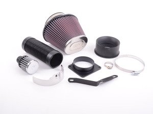 ES#3163989 - 57-0515 - 57i Performance Air Intake System - Easy to install with washable, lifetime filter - K&N - Audi