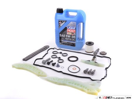 ES#3170136 - 11314609483kt4 - Timing Chain Kit - Ultimate  - Needed to replace the timing chain in your MINI with Oil Service kit & Valve cover gasket - Assembled By ECS - MINI