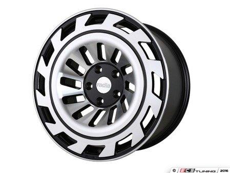 """ES#3438489 - t122085511245KT - 20"""" R8T12 Wheels - Set Of Four - 20""""x8.5"""", ET45, 5x112, 66.56CB - Gloss Black / Machined Face - Radi8 - Audi"""