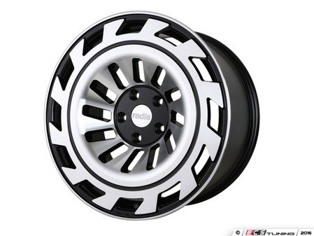 "ES#3438500 - t122010511242KT1 - 20"" R8T12 Wheels - Set Of Four - 20""x10"", ET42, 5x112 - Gloss Black / Machined Face finish - Radi8 - Audi Volkswagen"