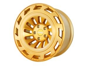 "ES#3176208 - T1219855112GBFKT - 19"" R8T12 - Set Of Four  - 19""x8.5"" ET45 5x112 - Brushed Gold - Radi8 - Audi Volkswagen"