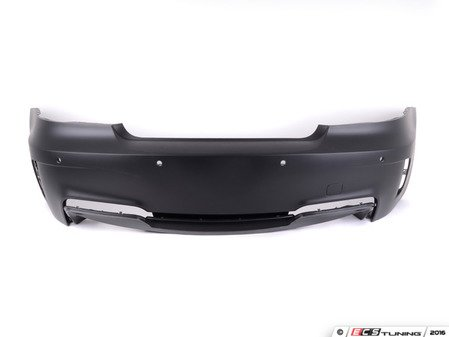 ES#2847689 - 012230ecs02a - 1M Style Rear Bumper - Quad Exit - Add the aggressive style of the 1M to your 1-Series - ECS - BMW