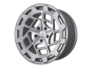 "ES#3438424 - cm91910511242KT3 - 19"" R8CM9 - Set Of Four - 19""x10"" ET42, 5x112- Matte Silver/Machined Face - Radi8 - Audi"