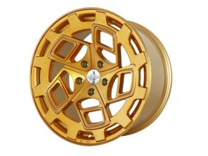 "ES#3176111 - CM919855112GBFKT - 19"" R8CM9 - Set Of Four  - 19""x8.5"" ET45 5x112 - Brushed Gold - Radi8 - Audi Volkswagen"