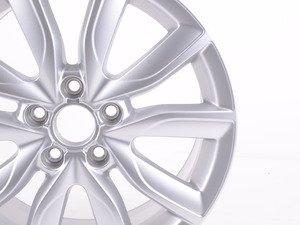 """ES#457190 - 8P0601025BK - 17"""" V-Split 10-Spoke Wheel - Priced Each - 17""""x7.5"""" ET56 5x112 Diamond silver - Genuine Volkswagen Audi - Audi"""