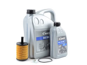 ES#3141765 - VR624VECOKT - Economy Oil Service Kit - Only the essentials to perform an oil service. Includes German Made Vaico oil that meets VW 502.00 & 505.00 standards - Assembled By ECS - Audi Volkswagen