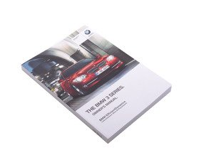 ES#2720219 - 01402911383 - Owners Manual - Replace your missing owners manual with a brand new manual directly from BMW. - Genuine BMW - BMW