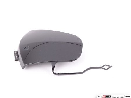 ES#2978978 - 51117376447 - Towing Eye Flap - Attached to the main trim on the bumper cover over the tow hook mount location - Genuine MINI - MINI