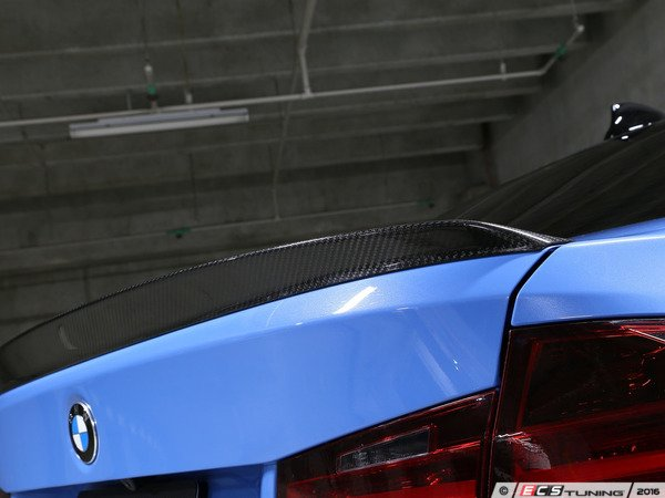 ES#3175966 - 3109-28011 - Carbon Fiber Trunk Spoiler - Individualize your BMW's looks with this carbon fiber trunk spoiler - 3D Design - BMW