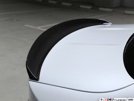 ES#3175967 - 3109-28211 - Carbon Fiber Trunk Spoiler - Individualize your BMW's looks with this carbon fiber trunk spoiler - 3D Design - BMW