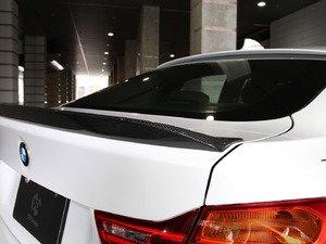 ES#3175965 - 3109-23621 - Carbon Fiber Trunk Spoiler - Individualize your BMW's looks with this carbon fiber trunk spoiler - 3D Design - BMW