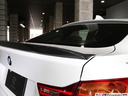 ES#3175965 - 3109-23621 - Carbon Fiber Trunk Spoiler - Individualize your BMW's looks with this carbon fiber trunk spoiler - 3D Design - BMW