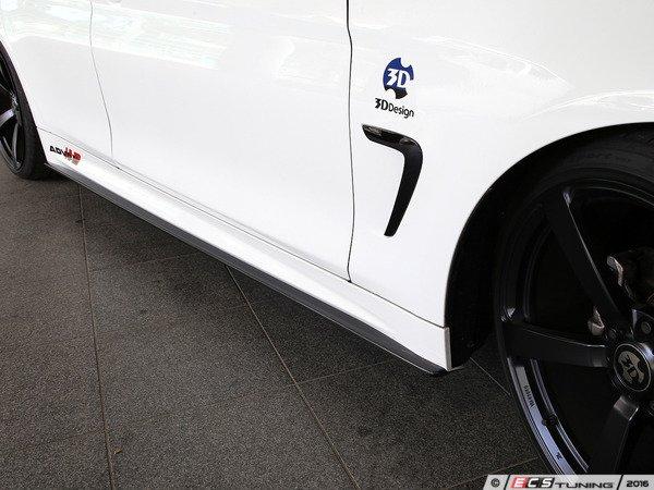 ES#3175897 - 3104-23611 - Carbon Fiber Side Skirts - Individualize your BMW's looks with these carbon fiber side skirts - 3D Design - BMW