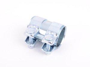 ES#2882479 - 1K0253141M - Dual Clamp Exhaust Sleeve - Priced Each - Quiet down your leaking exhaust. 55mm - Vaico - Audi Volkswagen