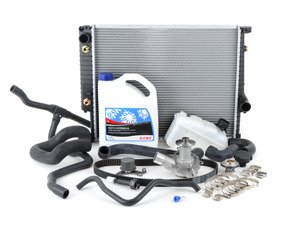 ES#2863375 - 11531722218KT - ECS Cooling System Refresh Kit - Level 3 - Ultimate cooling system overhaul kit - includes new radiator and all new hoses - Assembled By ECS - BMW
