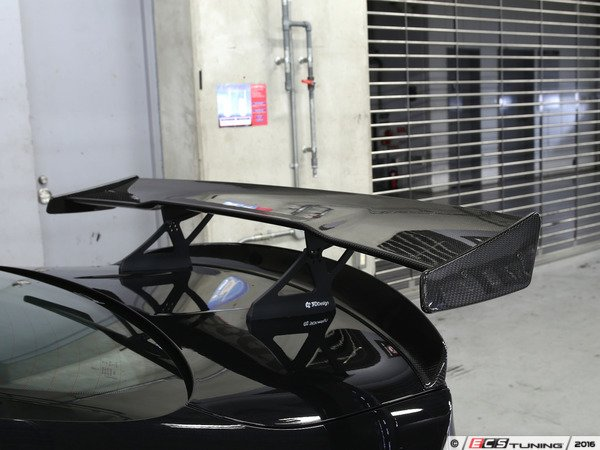 ES#3175982 - 3111-28211 - Carbon Fiber GT-Style Wing - Aggressive race-car looks for your BMW - 3D Design - BMW