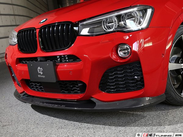 ES#3175866 - 3101-22621 - Carbon Fiber Front Lip Spoiler - Individualize your BMW's looks with this carbon fiber lip spoiler - 3D Design - BMW