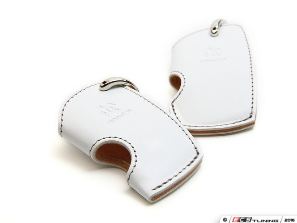 ES#3176016 - 7105-0112 - Small Key Case - White - Protect your keys & your interior with this stylish key case - 3D Design - BMW